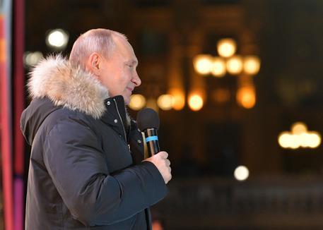 Trionfo in Russia: Putin al 7,6%