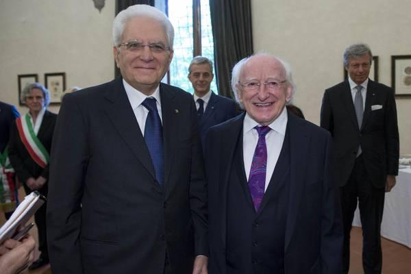 Migranti: presidente Irlanda, omaggio a Italia