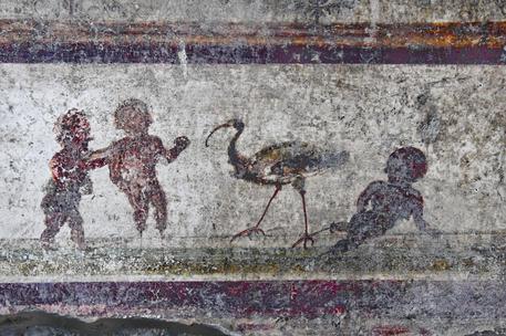 A Pompei si rivede il vicolo dei balconi