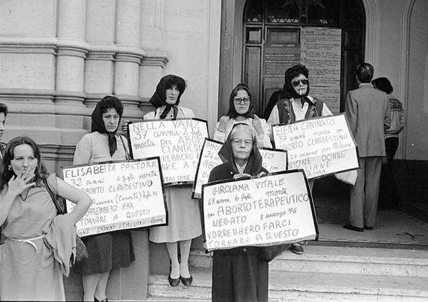 Aborto legale 40 anni fa