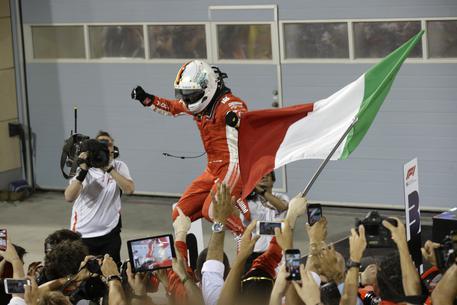 Vettel: Una sola parola oggi, perfetti