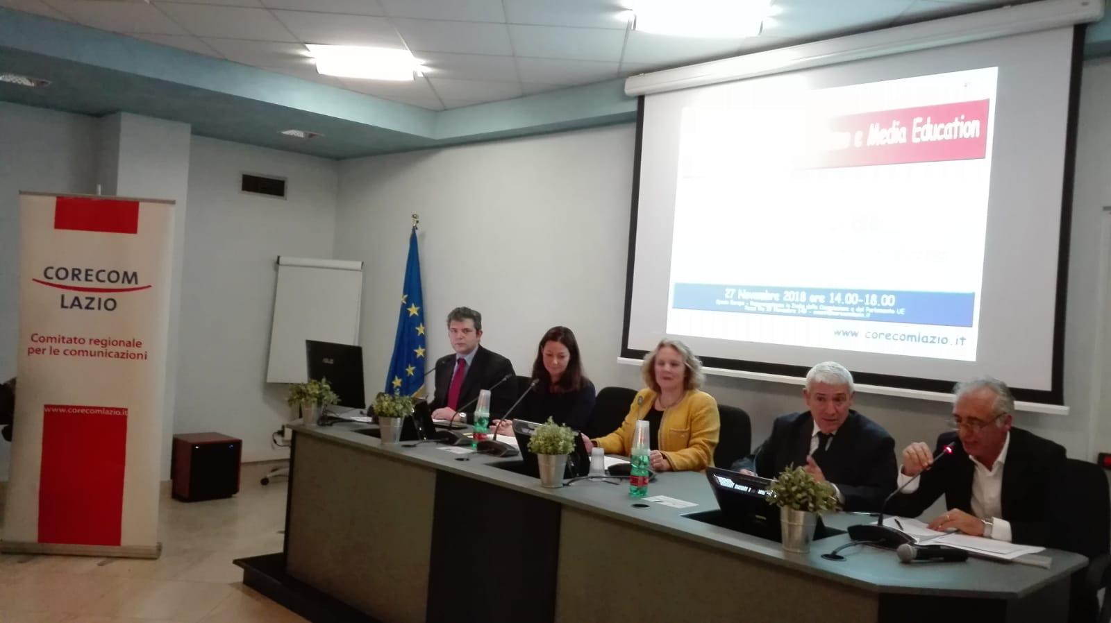 Cyberbullismo, importante convegno al Corecom Lazio