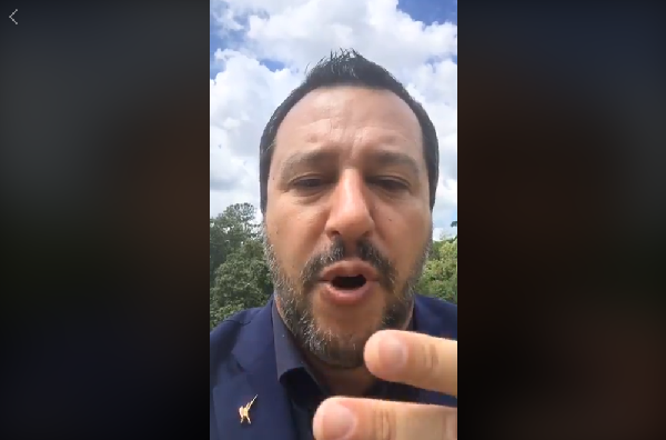Salta video di Salvini, migliaia di follower dalla Gamer