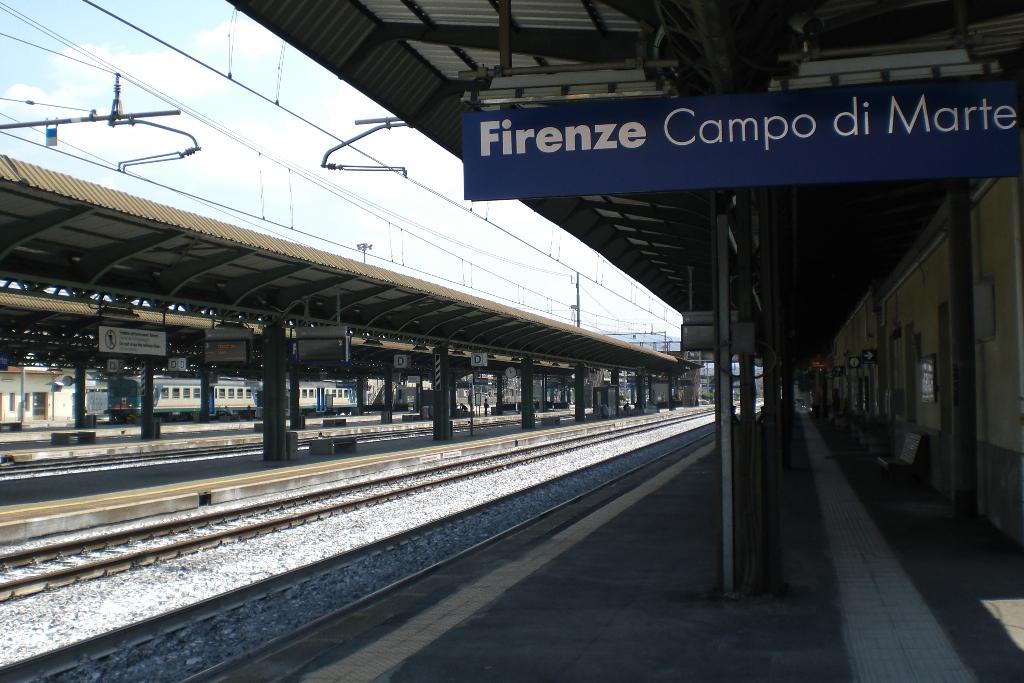 Firenze, incidente ferroviario: tre operai sono gravi
