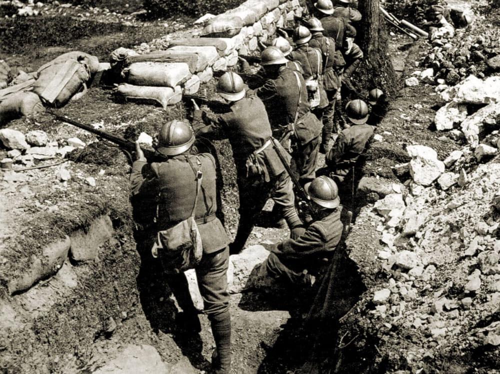 Torna alla luce affresco su Grande Guerra
