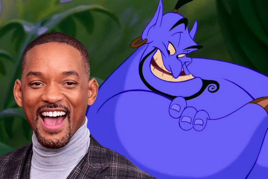 Aladdin, Will Smith nei panni del genio