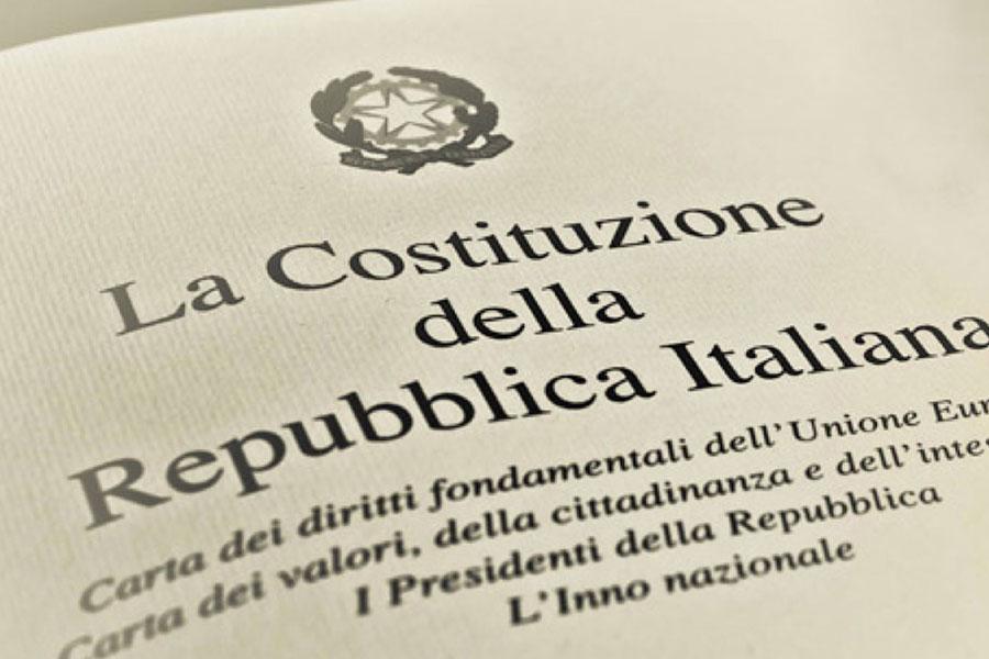 """Baldassarre: """"Continua la promozione Costituzione nel 2019"""""""