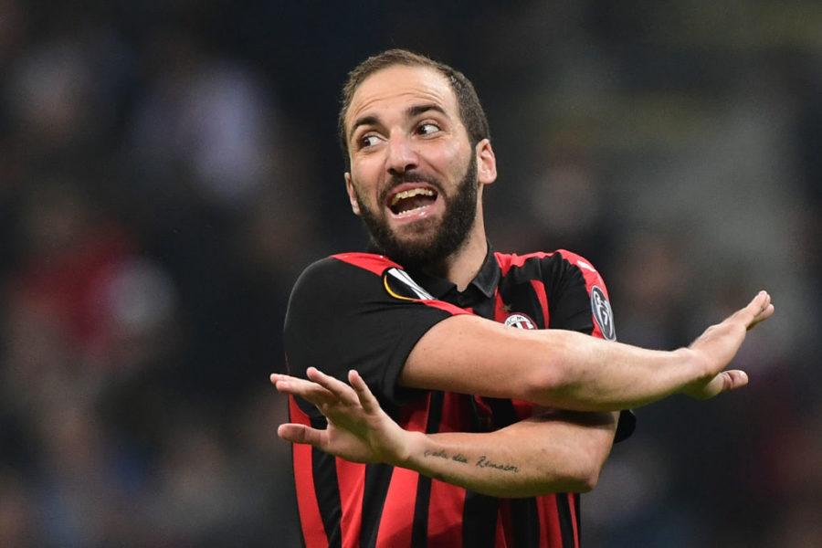 Milan, Higuain a un passo dal Chelsea