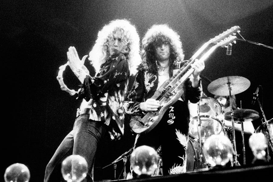Led Zeppelin a 50 anni dall'esordio