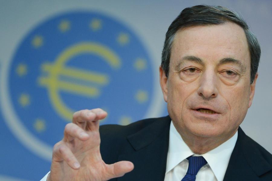 Draghi sull' Italia: cresce meno del previsto