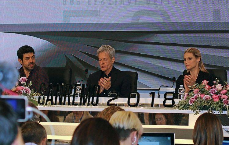 Sanremo, pace tra Claudio Baglioni e Teresa De Santis