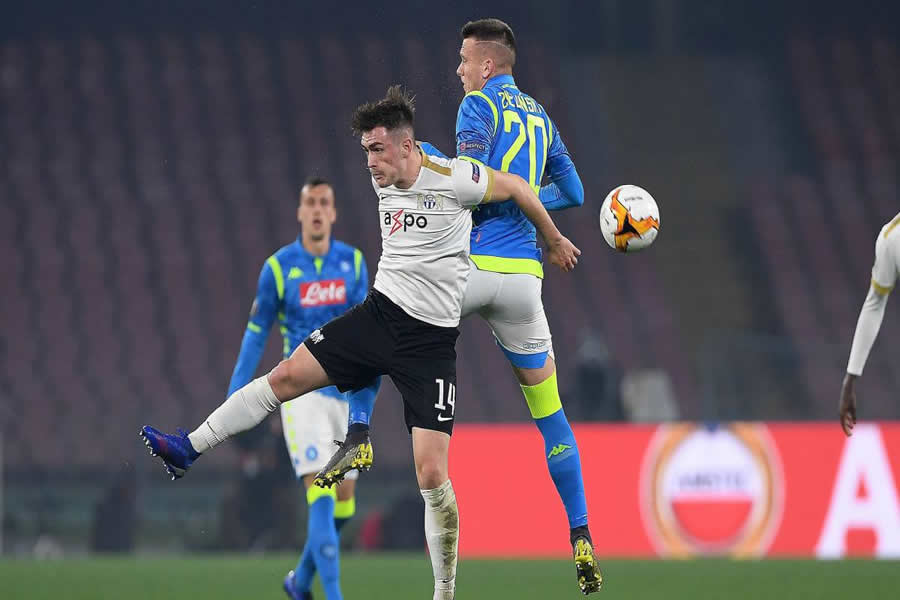 Europa League tutto ok per Inter e Napoli