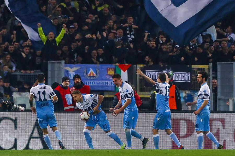 Lazio-Roma trionfo dei biancocelesti