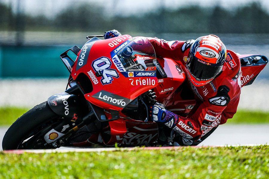 Moto Gp Dovizioso vince Rossi quinto