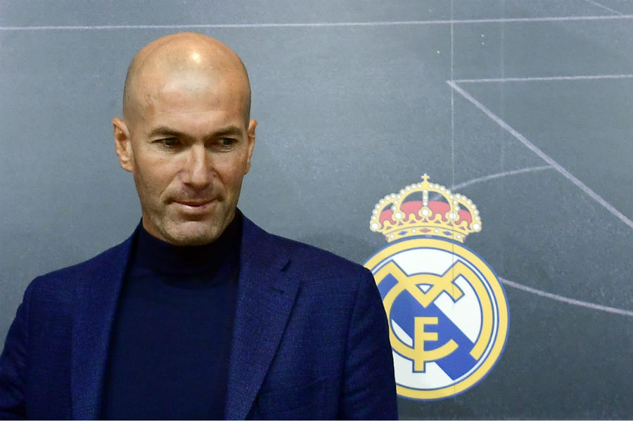 Zidane torna sulla panchina del Real Madrid