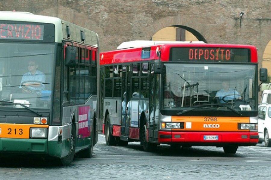 Sciopero Roma Tpl: bus fermi venerdì 12 aprile