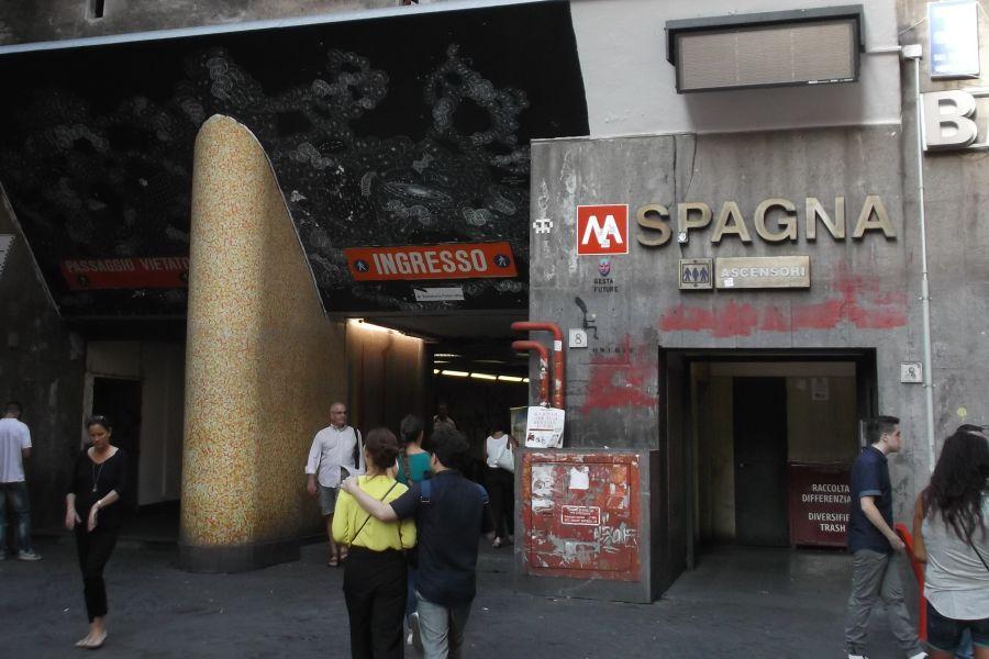 Riapre metro Spagna a Roma la prossima settimana