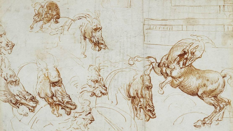 Altri disegni di Leonardo sottoposti a delicate ricerche
