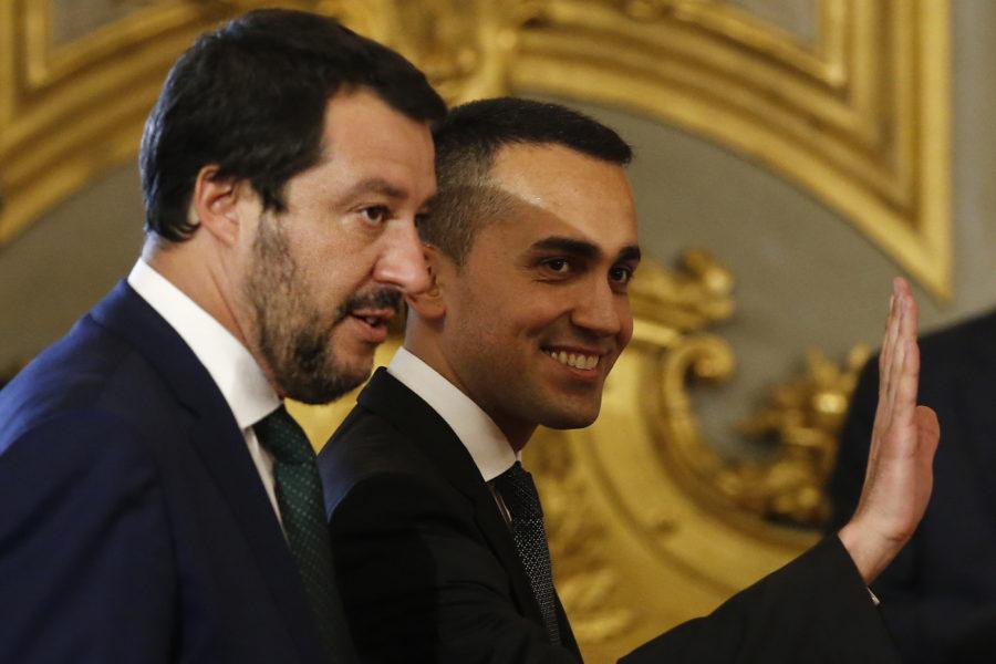 Lega, M5s, Di Maio, Salvini: è duello