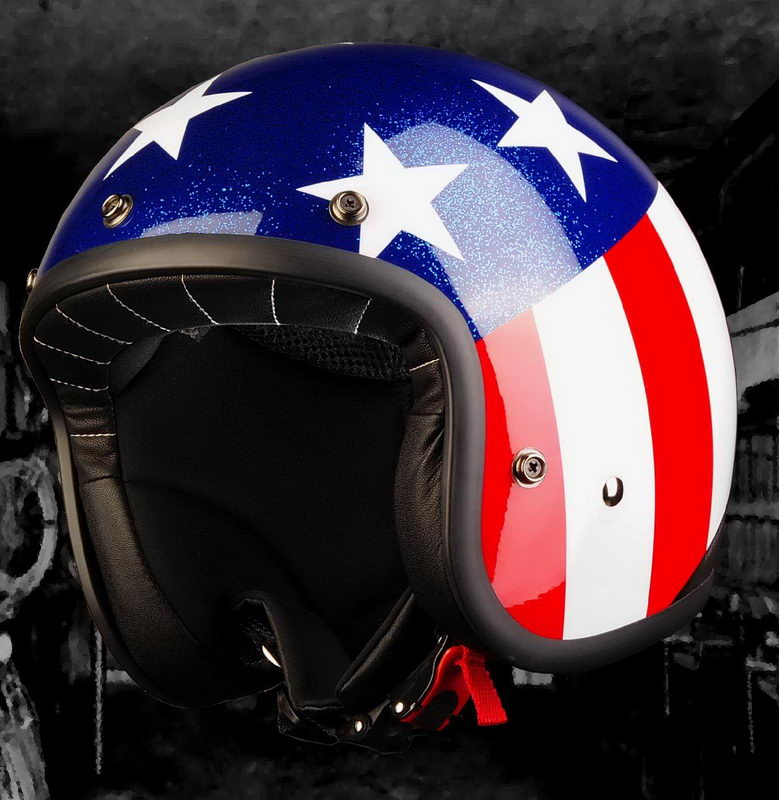 casco project black racer easy rider