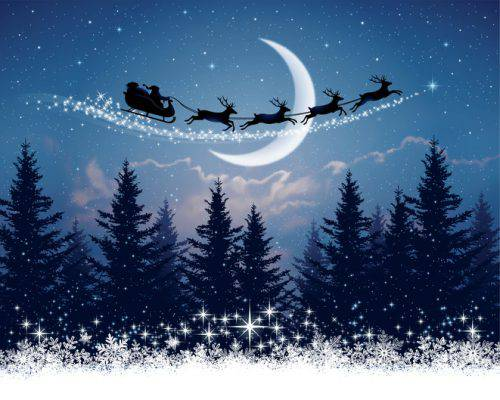Babbo Natale 7 Cervelli.Il Tracking Di Babbo Natale Da Oggi Si Puo Italia Sera
