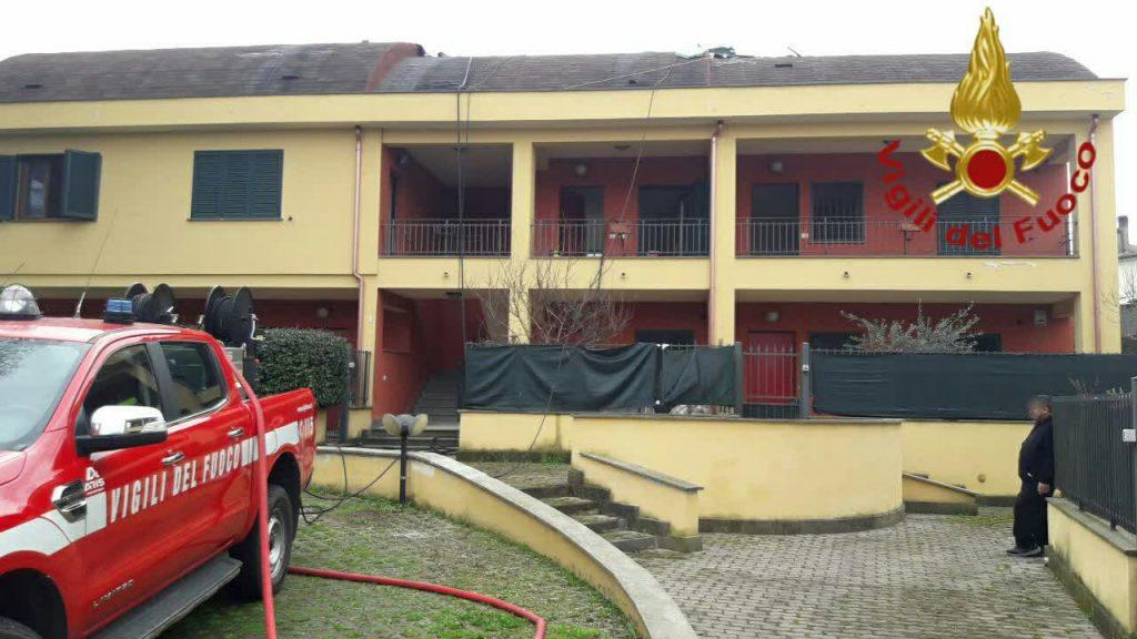 Roma, incendio in villa ad Artena: nessun ferito