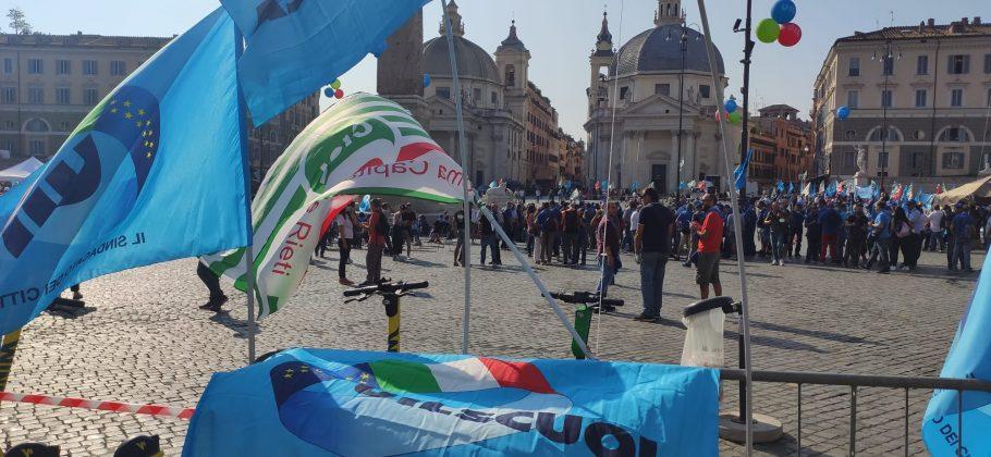 Ripartire dal lavoro |  oggi a Roma sindacati in piazza